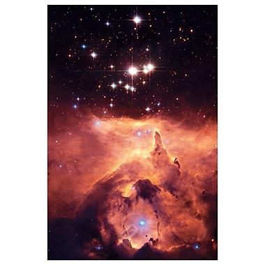 NGC 6357, NASA, toile tendue, 24 x 36 po