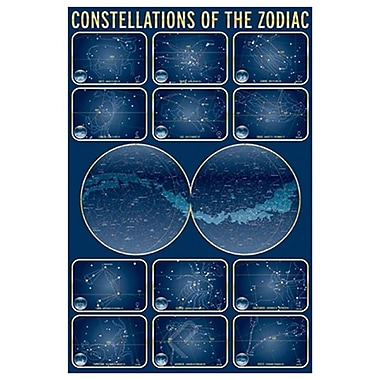 Constellations of the Zodiac, Stretched Canvas, 24