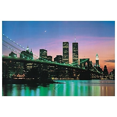 New York at Night, Stretched Canvas, 24