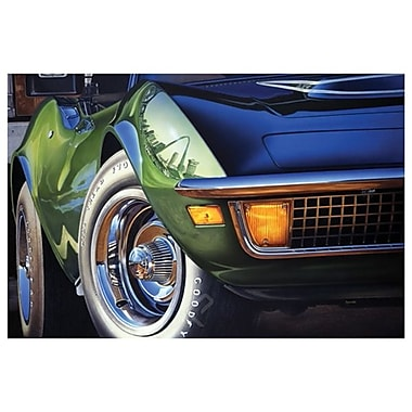 Corvette 1970 StLouis by Reynolds, Canvas, 24