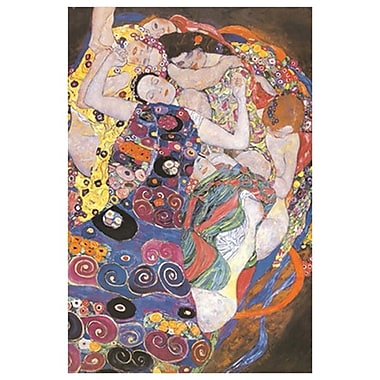 The Virgin by Klimt, Canvas, 24