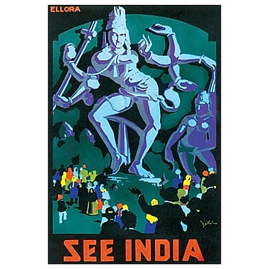 See India, Stretched Canvas, 24