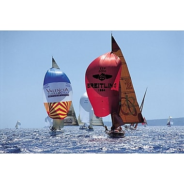Perfect Day for A Sail Race, Stretched Canvas, 24