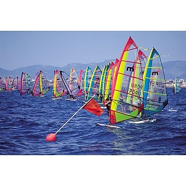 Surf Regatta StLine, Stretched Canvas, 24