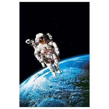 Astronaute, toile tendue, 24 x 36 po