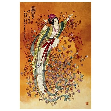 Goddess of Wealth by Chinese, Canvas, 24