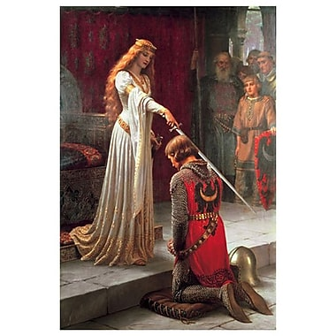 The Accolade by Leighton E.B., Canvas, 24