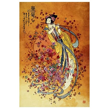 Goddess Prosperity by Chinese II, Canvas, 24
