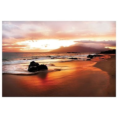 Coastal Rock Hawaii Sunset by Settle, Canvas, 24