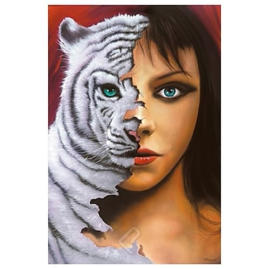 The Tigress by Warren, Canvas, 24