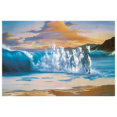 La vague de Warren, toile, 24 x 36 po