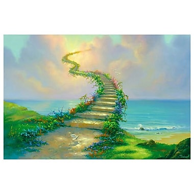 Escalier pour le ciel, de Warren, toile, 24 x 36 po