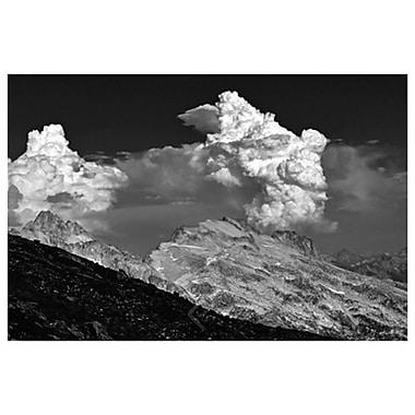 Mont Washington et nuages de Settle, toile, 24 x 36 po