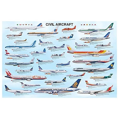 Civil Aircraft, Stretched Canvas, 24