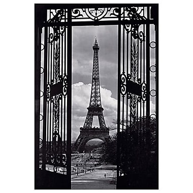 Paris View, Stretched Canvas, 24