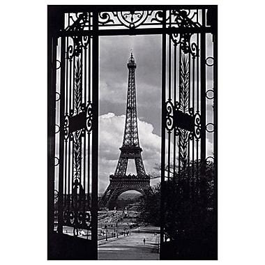 Vue de Paris, toile tendue, 24 x 36 po