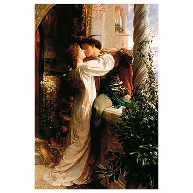 Romeo and Juliet by Dicksee, Canvas, 24