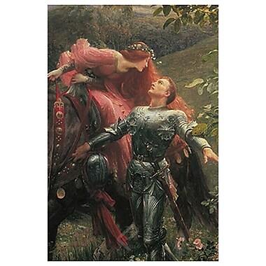 La Belle Dame de Dicksee, toile, 24 x 36 po