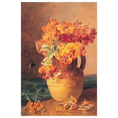 Flowers in a Jug by Stannard, Canvas, 24