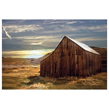 Sunset Barn by Laird, Canvas, 24