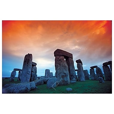 Stonehenge by Hill, Canvas, 24