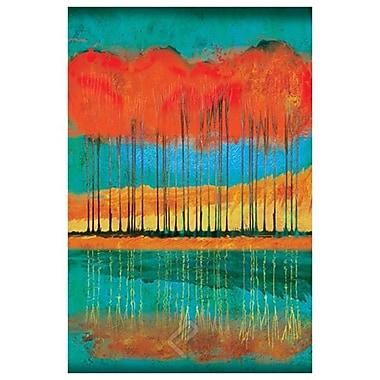 Autumn Pond de Jones, toile, 24 x 36 po