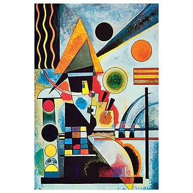 Balancement by Kandinsky, Canvas, 24