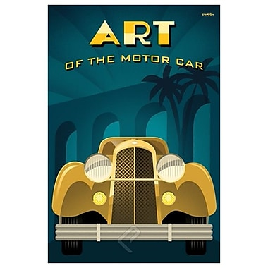 Art of Motor Car 2 by Crampton, Canvas, 24