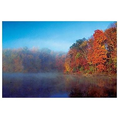 Fall Scene In Ohio 13 de Sellers, toile, 24 x 36 po