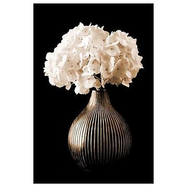 Hydrangées dans un vase par Zalewski, toile, 24 x 36 po