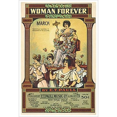 Woman Forever by Song, Canvas, 24