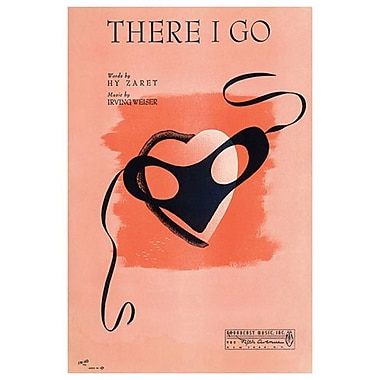 « There I Go » de Im-Ho, toile tendue, 24 x 36 po