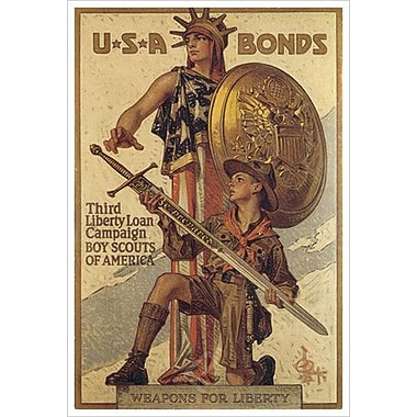« Weapons Liberty » par Leyendecker, toile, 24 x 36 po