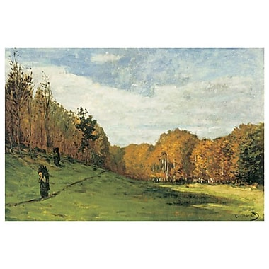 Wood Gatherers by Monet, Canvas, 24