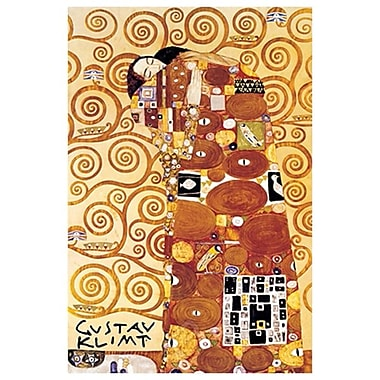 The Embrace by Klimt, Canvas, 24