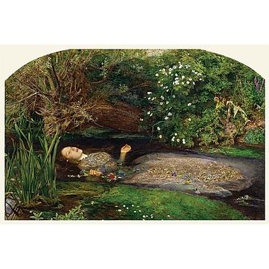 Ophelia by Millais, Shakespeare,Canvas, 24