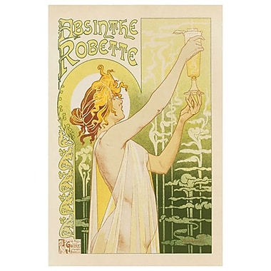 Privat - Absinthe Robette, Stretched Canvas, 24