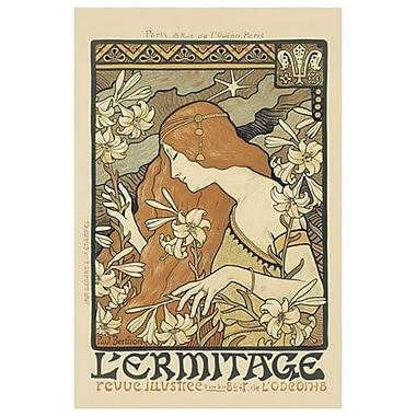 L'Ermitage Magazine by Berthon, Canvas, 24