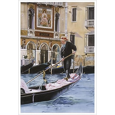The Gondolier by Aviram, Canvas, 24