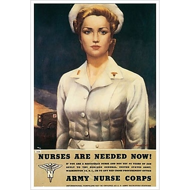 Nurses Needed Now by Bernatchke, Canvas, 24