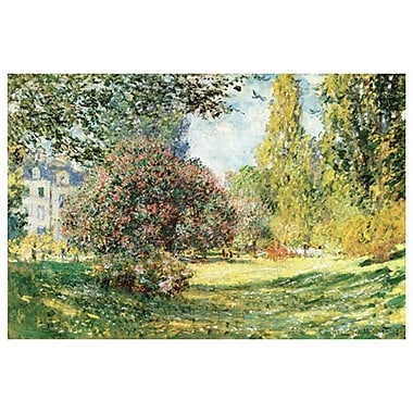Parc Monceau Paris by Monet, Canvas, 24