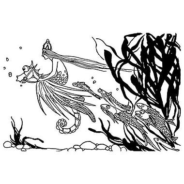 Princesse de la mer de Pogany, toile, 24 x 36 po