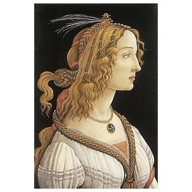 Woman Myth Guise by Botticelli, Canvas, 24