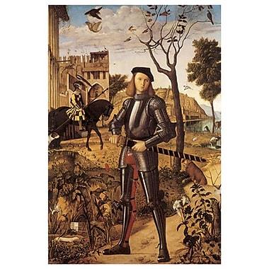 Francesco Rovere by Carpaccio, Canvas, 24