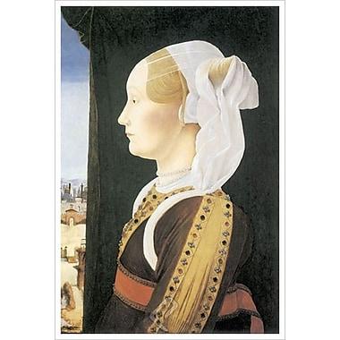 Ginevra Bentivoglio de Roberti, toile, 24 x 36 po