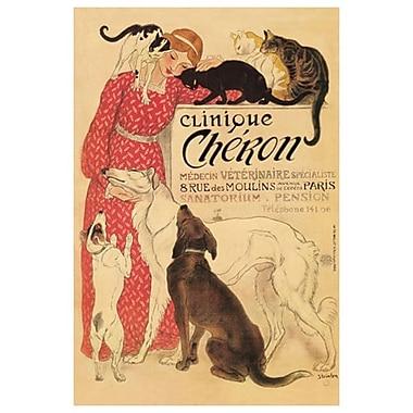 Clinique Cheron by Steinlen, Canvas, 24