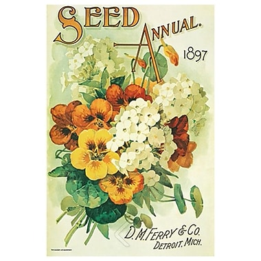Seed Annual 1897, Stretched Canvas, 24