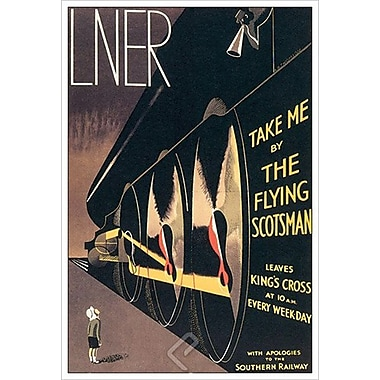 Flying Scotsman by Thomson, Canvas, 24