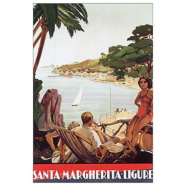 Santa-Margherita-Ligure, Stretched Canvas, 24