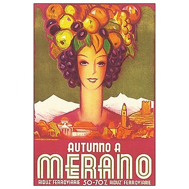Autunno a Merano, Stretched Canvas, 24
